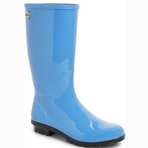 UGG Shoes - BRAND NEW 💯 AUTHENTIC Light Blue Shaye Rain Boots